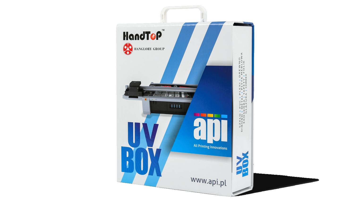 UV Box praktyczny wzornik dla druku UV