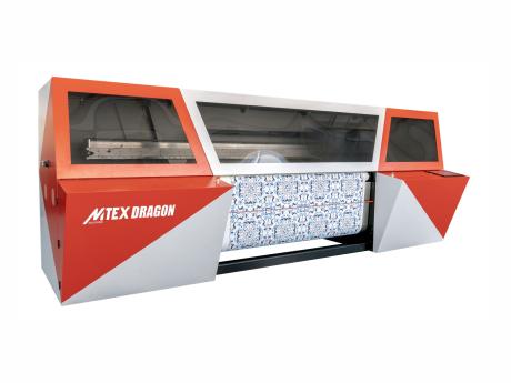 Przemysłowy druk sublimacyjny - MTEX Dragon 16H
