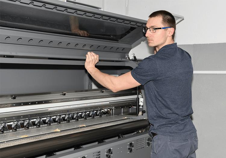 Usługa serwisowa drukarek