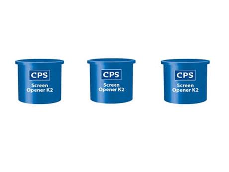 Przygotowanie i regeneracja szablonów - Alkemi/CPS Screen opener K2