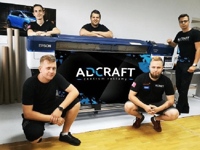 Epson już pracuje w Adcraft – Centrum Reklamy