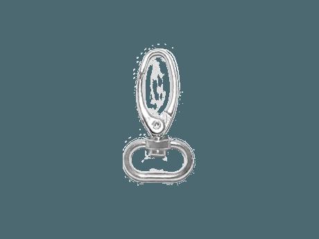 Akcesoria do smyczy reklamowych - Karabińczyk metalowy Krab Vesline M15