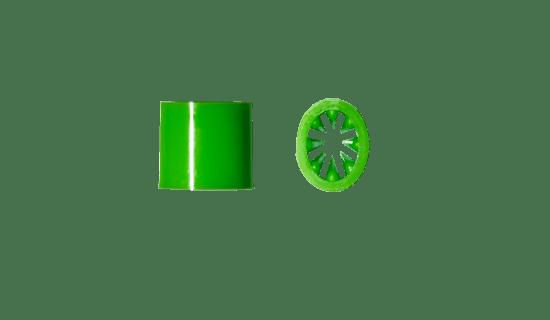 Akcesoria do smyczy reklamowych - Zacisk Vesline zielony TS