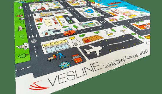 Produkty do sublimacji - Vesline SUBLI DIGI CARPET 400 g/m2 1,60x50 m