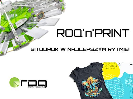 Maszyny sitodrukowe marki ROQ w ofercie API.PL