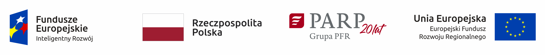 Logotypy Fundusze Unijne Dotacja