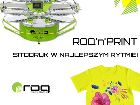 Owalne drukarki sitodrukowe marki ROQ w ofercie API.PL