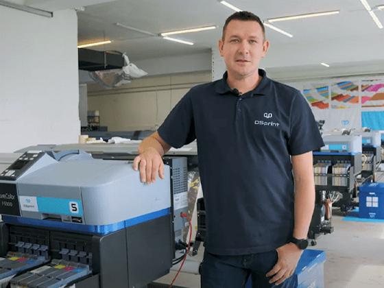 Rekomendacja od producenta tkanin firmy DS Print