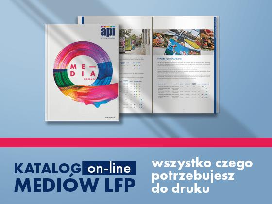 Poznaj pełną ofertę mediów LFP – pobierz katalog