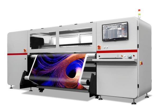 Przemysłowy druk sublimacyjny - HOMER 1800R PRO