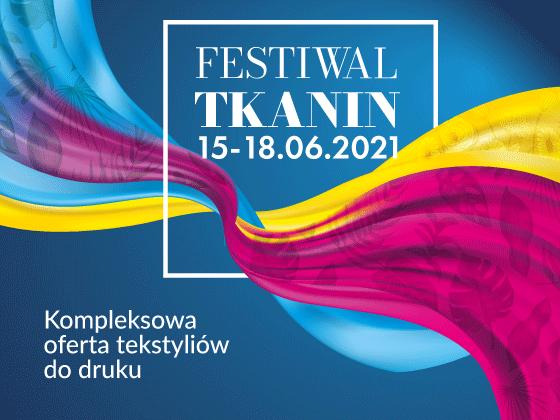 Zaproszenie na Festiwal Tkanin 2021