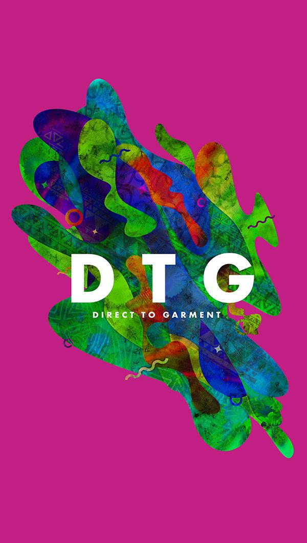 Metoda druku cyfrowego DTG