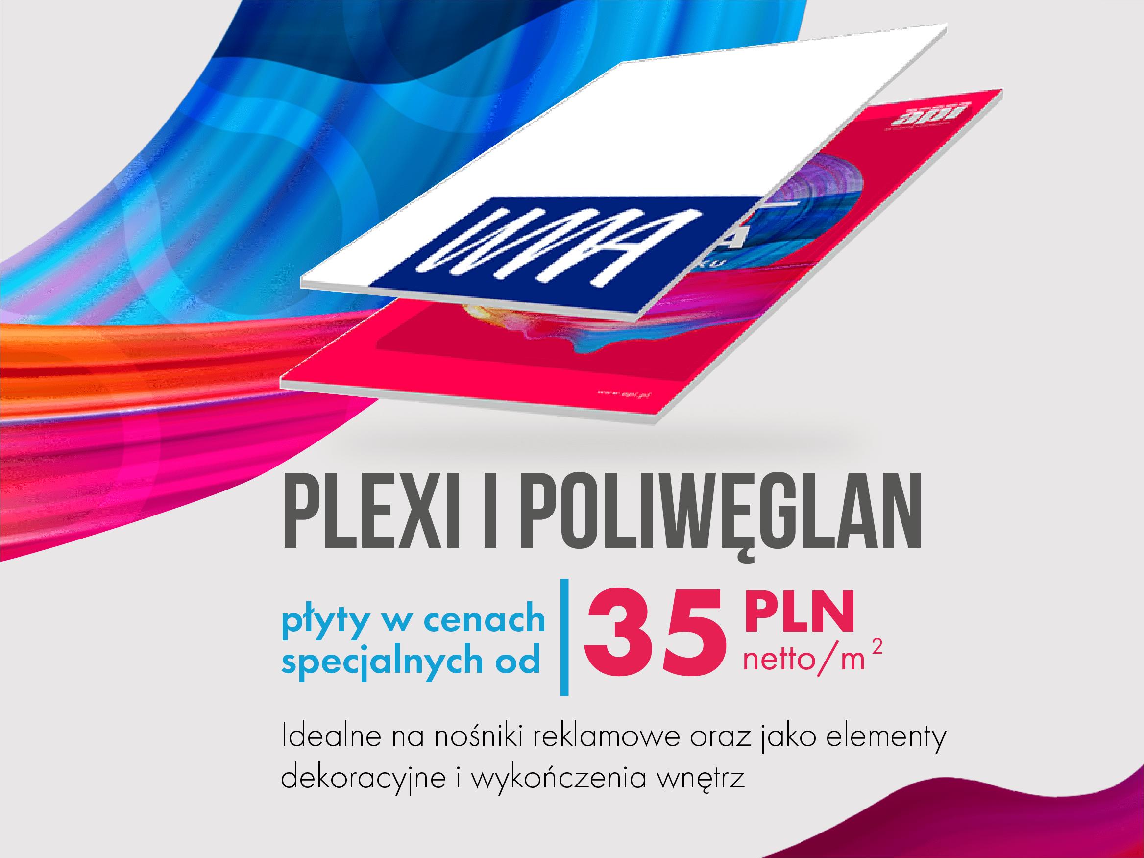 PLEXI i POLIWĘGLAN – płyty w cenach specjalnych!